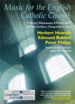 Music for the English Catholic church